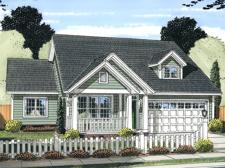 Country Home Design, 059H-0176