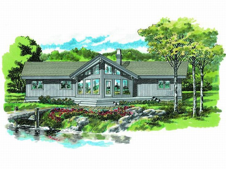 Contemporary Home Plan, 032H-0084