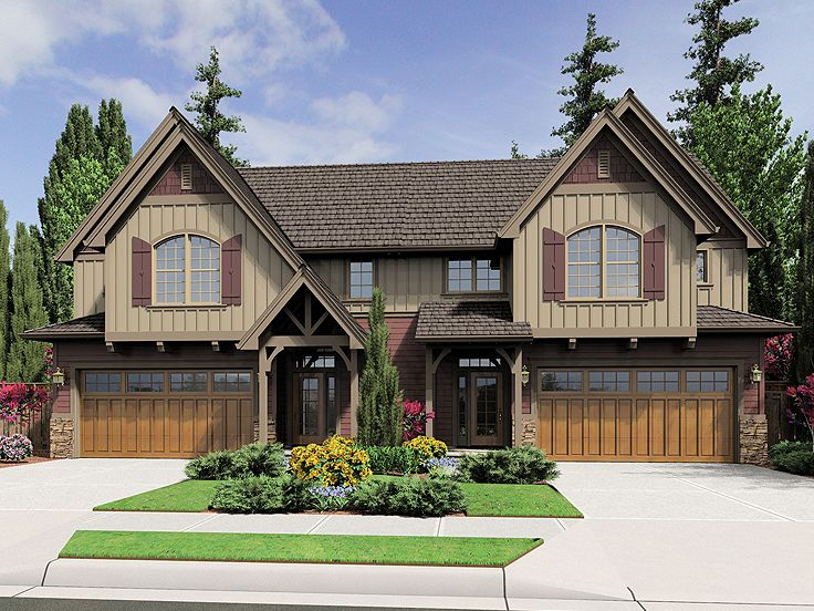 Plan 034m 0022 find unique house plans home plans and for Two family home plans