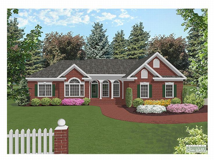 Traditional House Plan, 007H-0046