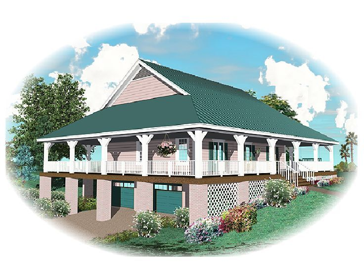 Country House Plan, 006H-0057