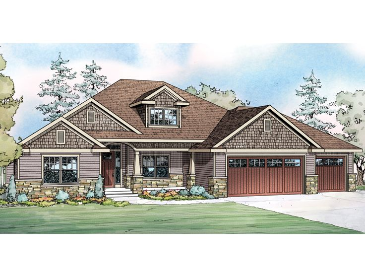 Craftsman Home, 051H-0212