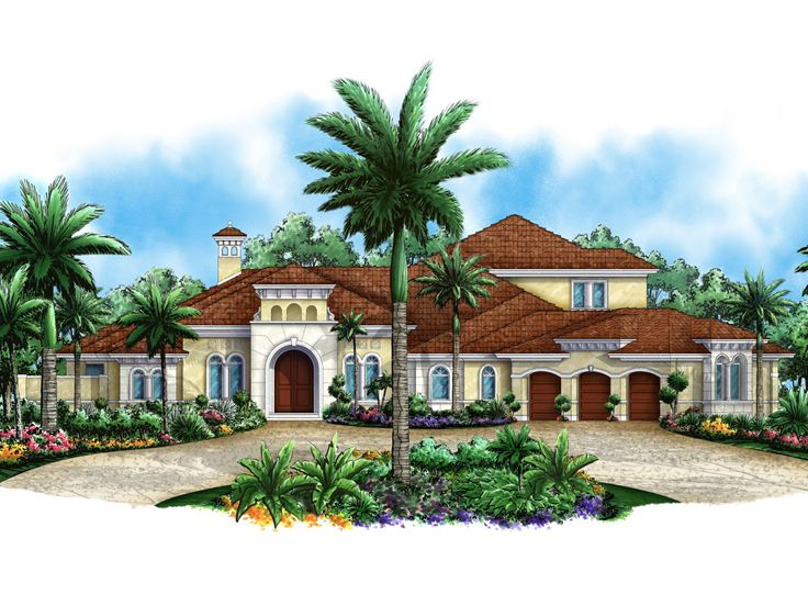 Premier Luxury House Plan, 037H-0159