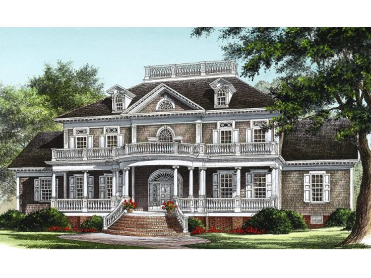Southern Luxury Home, 063H-0021