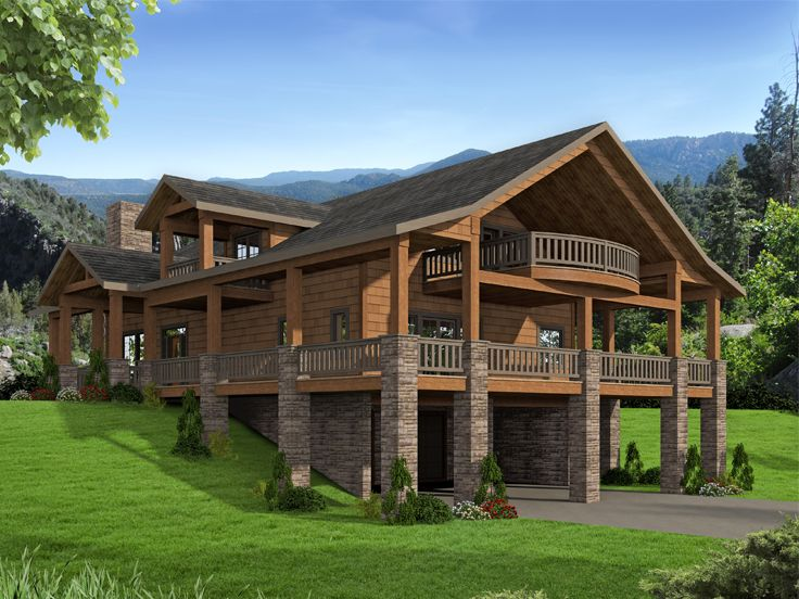 Delightful Rustic Garage Apartment Plan, 012G 0135
