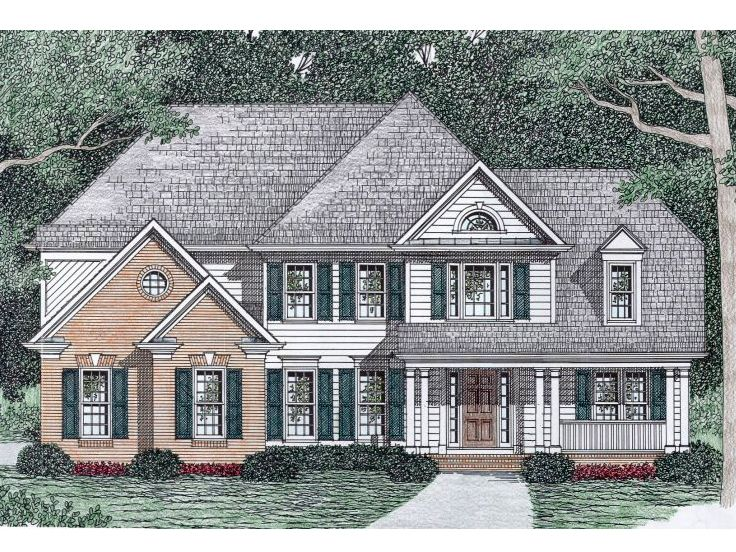 Traditional House Plan, 045H-0045