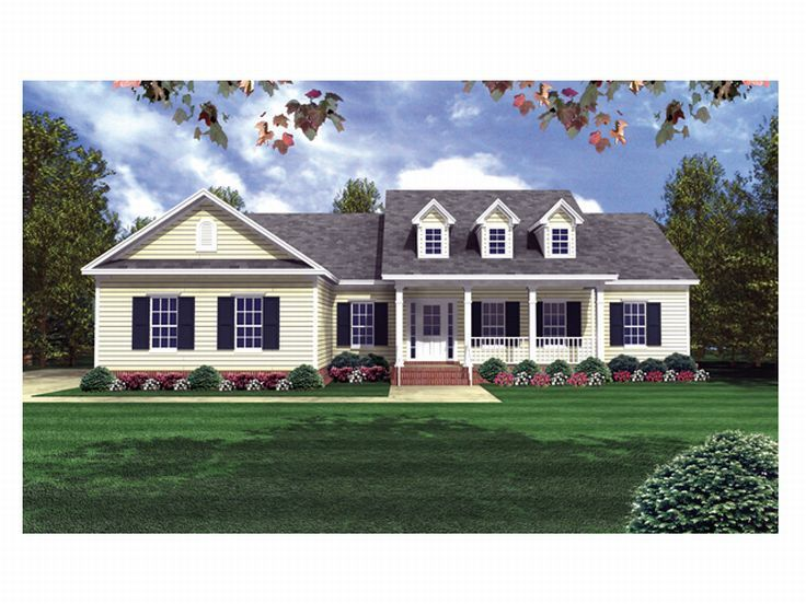 Country House Plan, 001H-0066