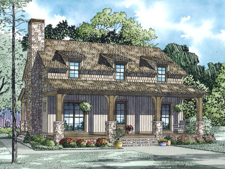 Affordable Home Plan, 025H-0317