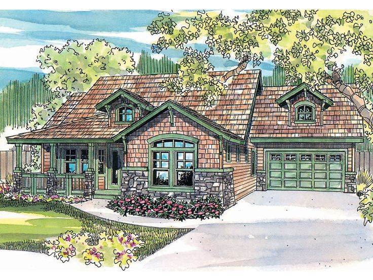 Craftsman Home Design, 051H-0078