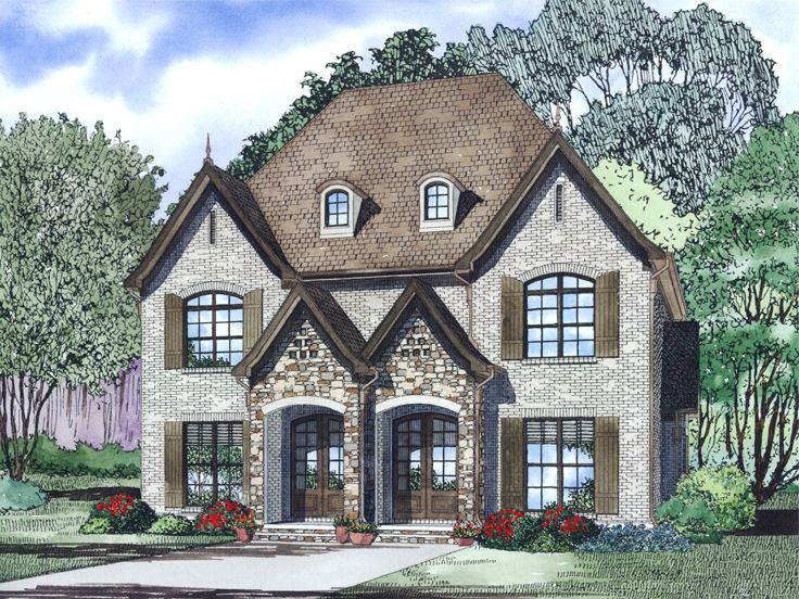European Duplex Plan, 025H-0097