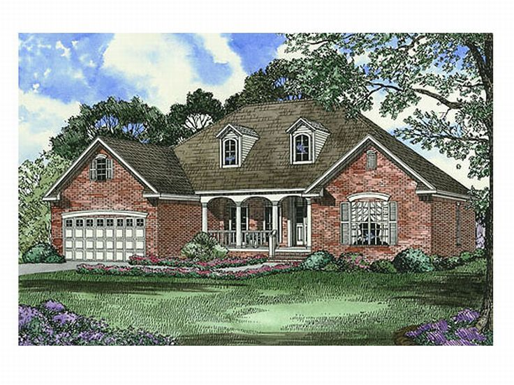 Ranch House Plan, 025H-0095