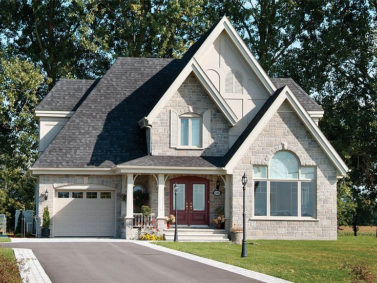 European House Plan, 027H-0070