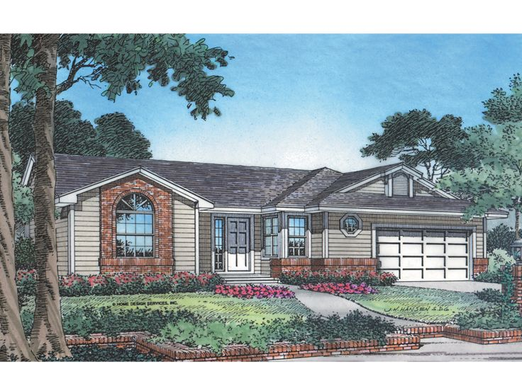 Traditional House Plan, 043H-0014