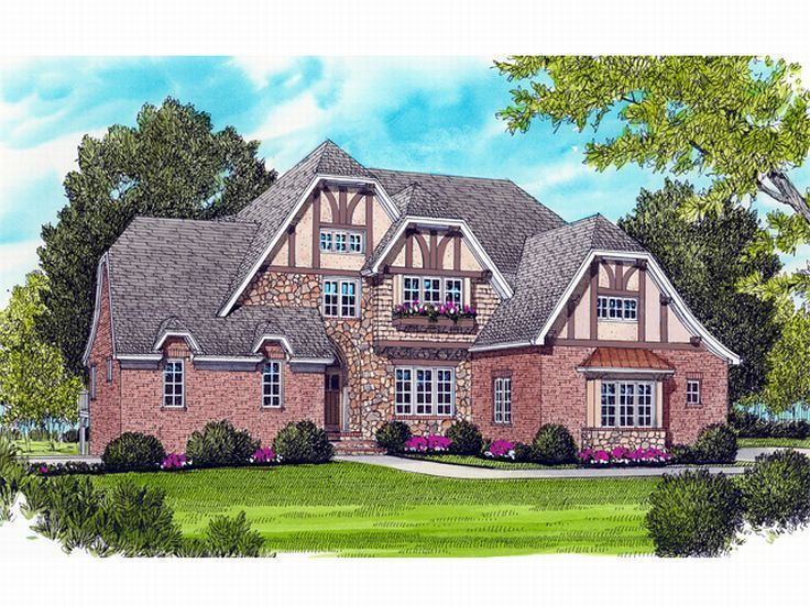 European Home Plan, 029H-0098