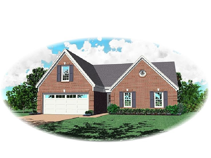 Traditional House Plan, 006H-0043
