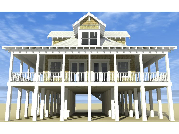 Coastal Home Plan, 052H-0062