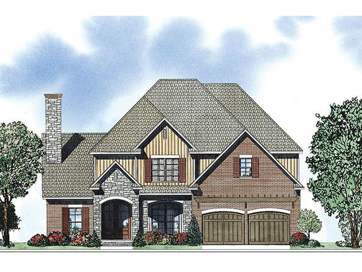 Two-Story House Plan, 025H-0253
