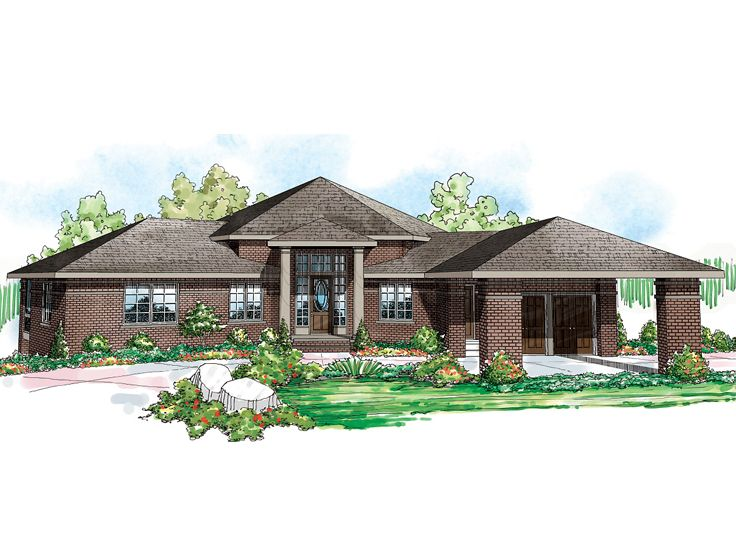 Waterfront house plans contemporary waterfront home plan for Waterfront house plans