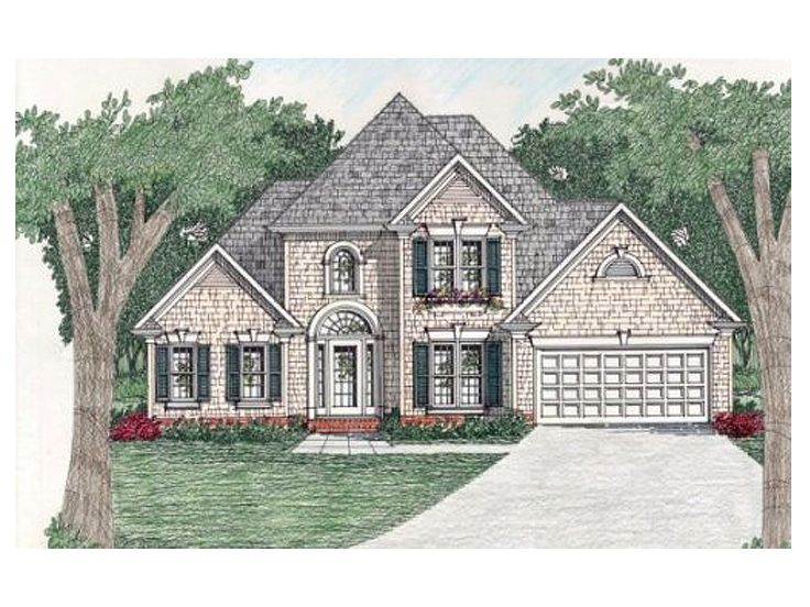 Two-Story House Plan, 045H-0005