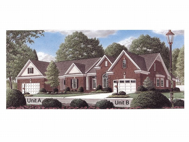 Townhouse Plan, 011M-0004