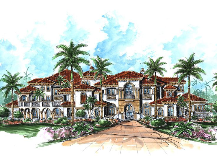 Premier Luxury House Plan, 037H-0171