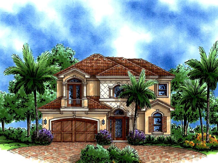 Two-Story House Plan, 037H-0188