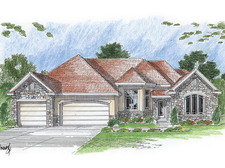 1-Story Home Plan, 050H-0068