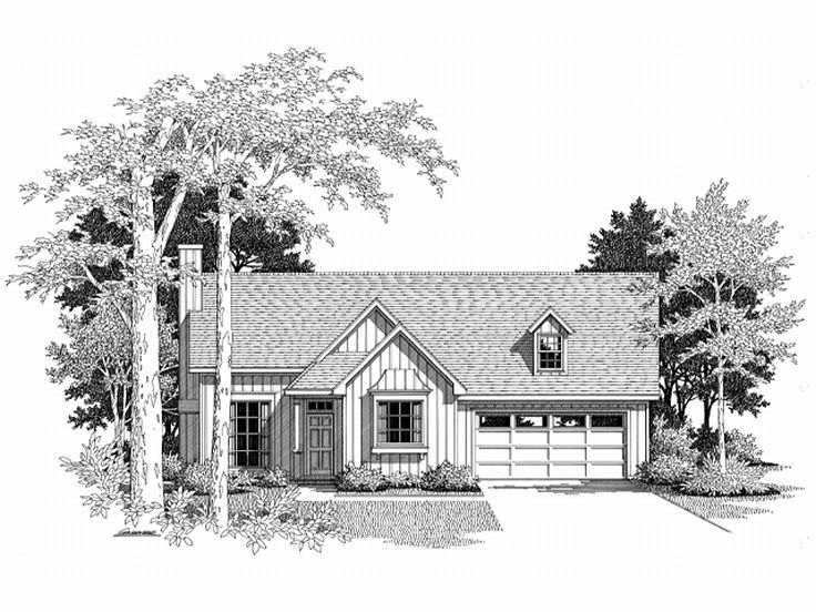 Small House Plan, 030H-0004