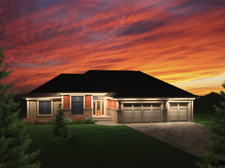 1-Story House Plan, 020H-0297