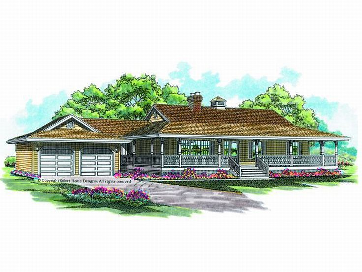 Country House Plan, 032H-0023
