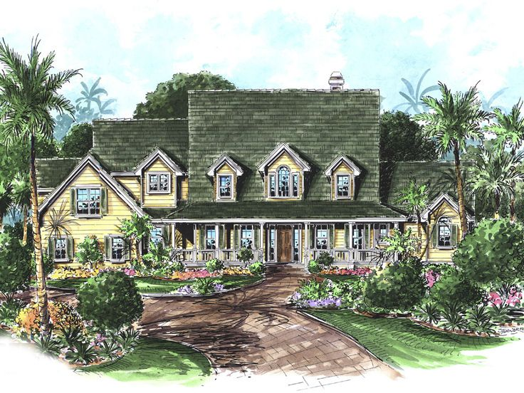 Country House Plan, 037H-0027