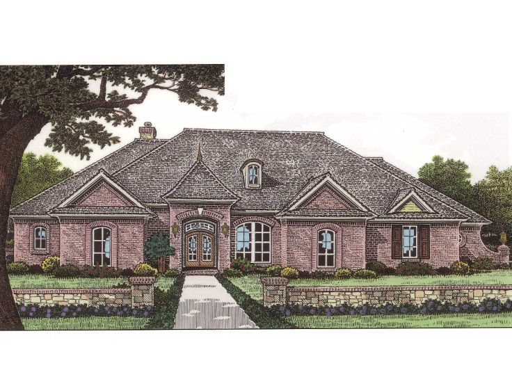 Ranch House Plan, 002H-0035