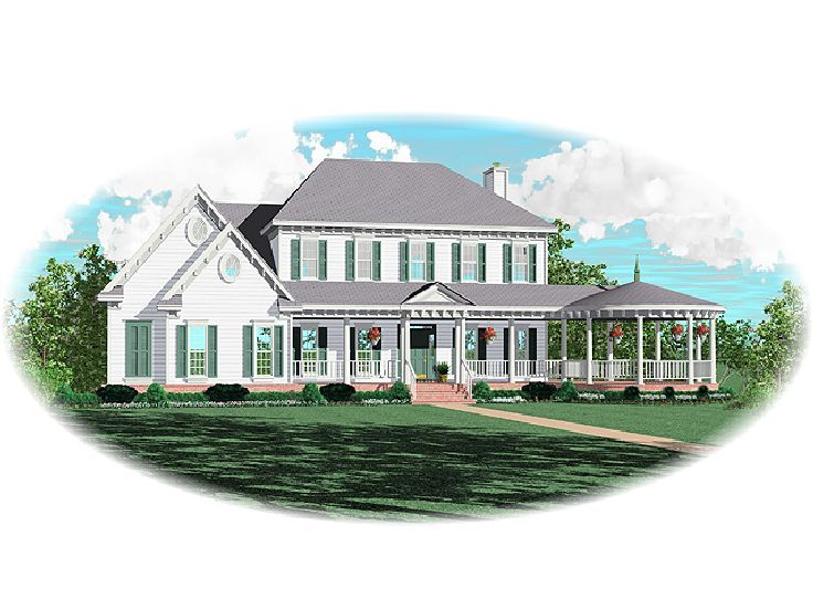 Luxury Home Plan, 006H-0104