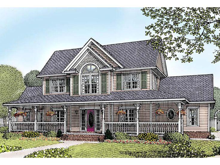 Country Victorian House Plans Over 5000 House Plans