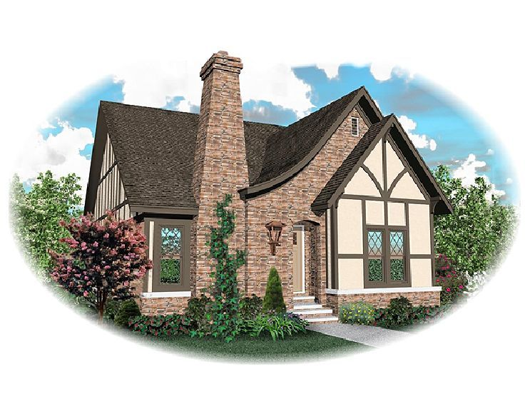 European House Plan, 006H-0094