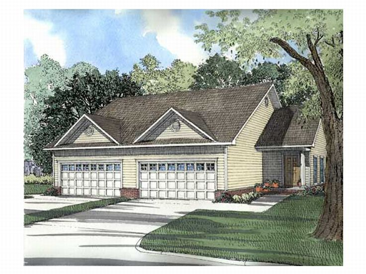 Multi-Family House Plan, 025M-0040
