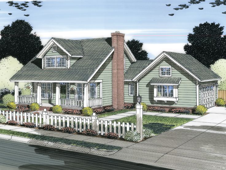 Small House Plan, 059H-0137