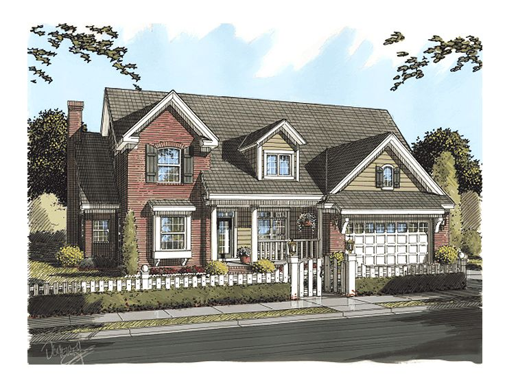 Family- House Plan, 059H-0085
