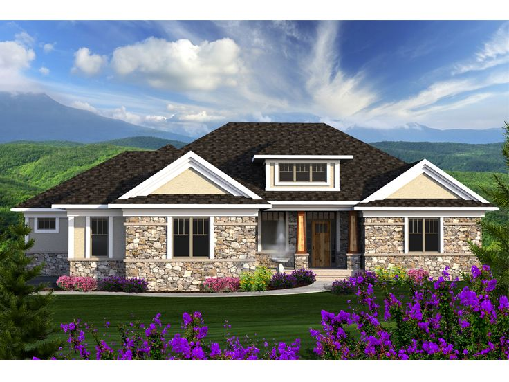 Empty nester house plans european style empty nester for Small empty nester home plans