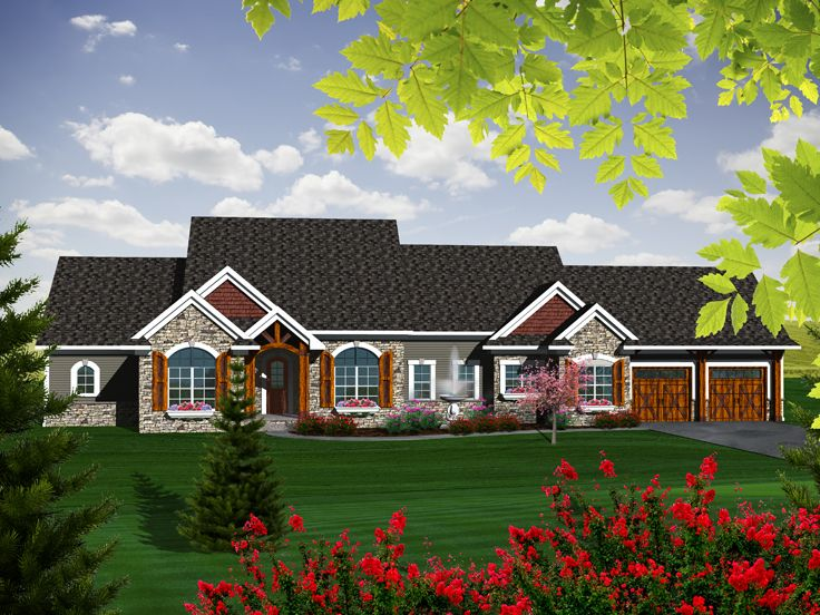 empty nester house plans ranch empty nester home plan 020h 0332 at. Black Bedroom Furniture Sets. Home Design Ideas