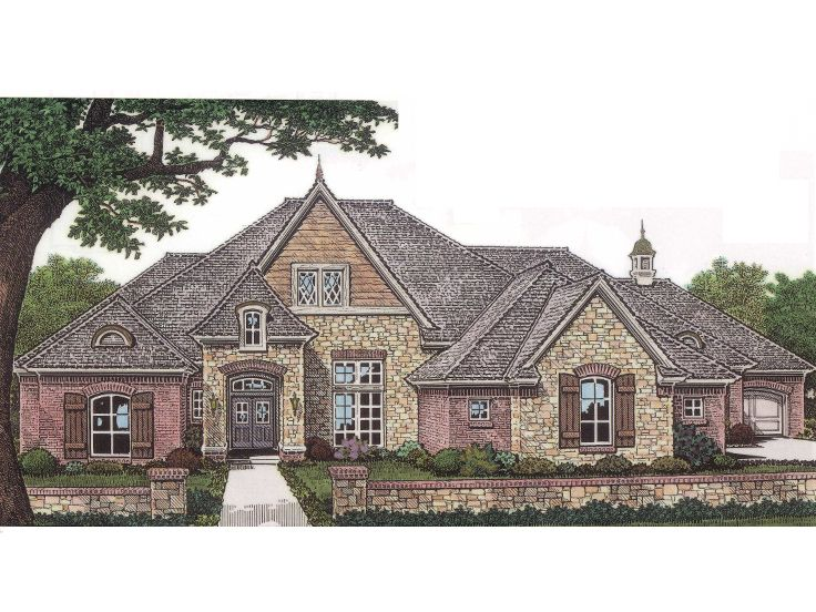 European Home Plan, 002H-0032