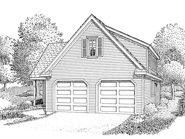 Plan 054g 0004 find unique house plans home plans and floor plans at for 4 car garage plans with apartment above