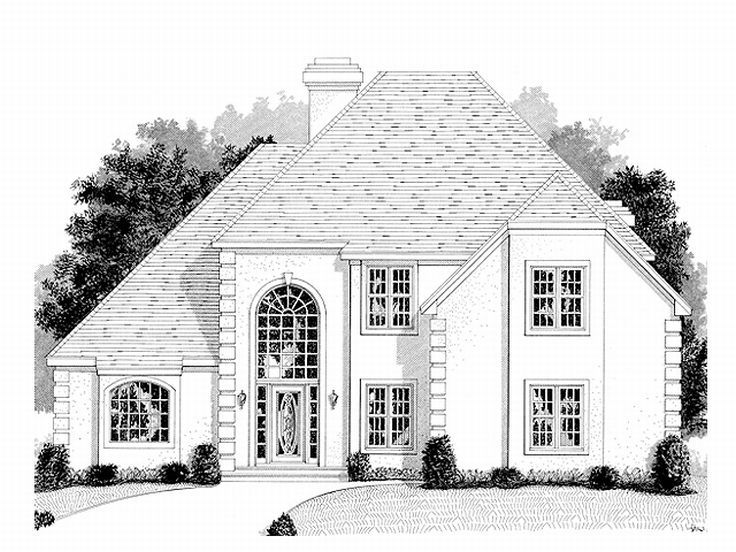 Sunbelt House Plan, 007H-0086