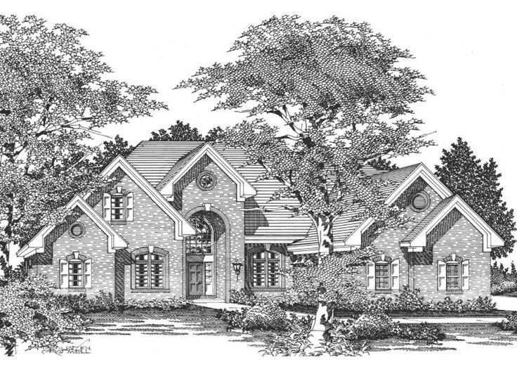 Traditional Home Design, 061H-0131