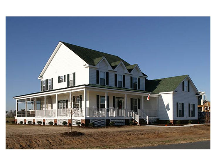 Farmhouse plans two story farmhouse plan 058h 0082 at for 2 story farmhouse