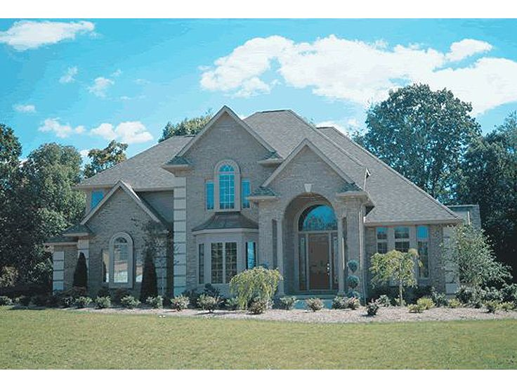 Luxury Home Plan, 031H-0017
