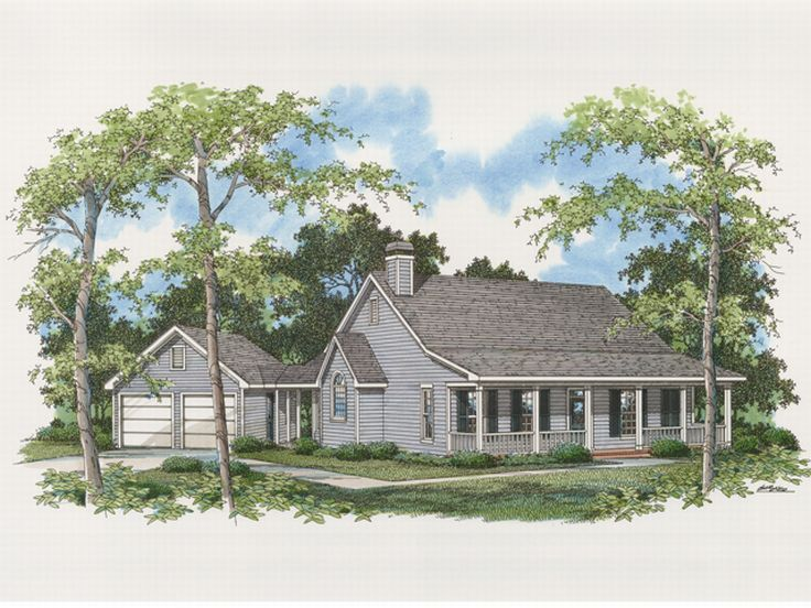 Country Home Plan, 030H-0012