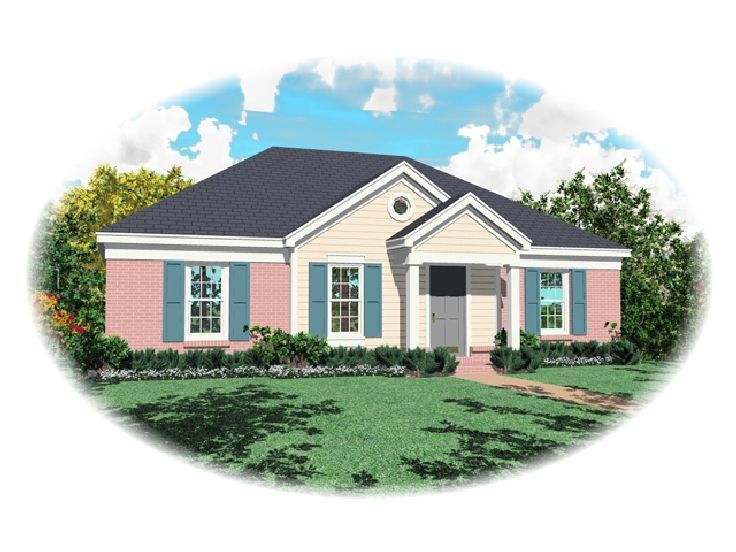 Small House Plan, 006H-0006