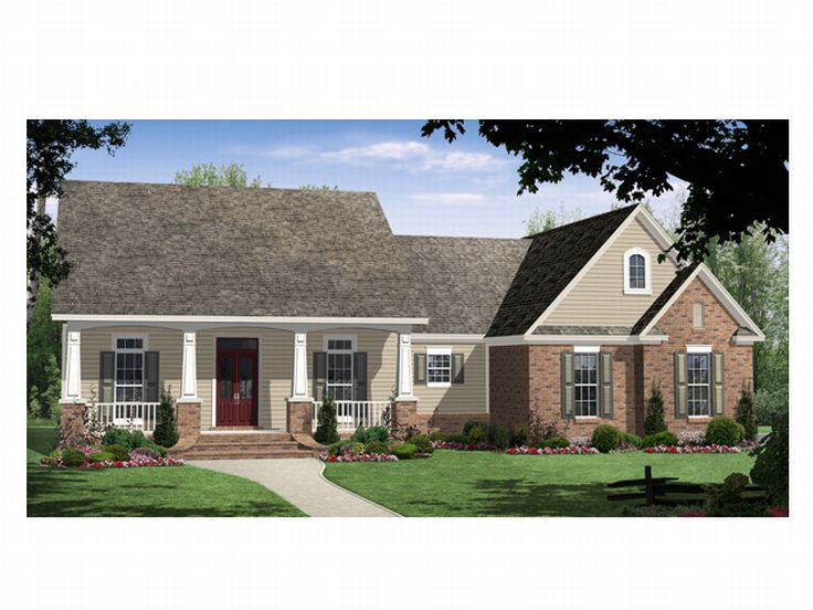 One-Story Home Plan, 001H-0065