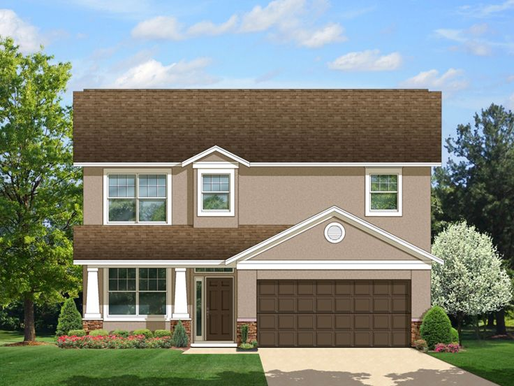 Two-Story Home Plan, 064H-0040
